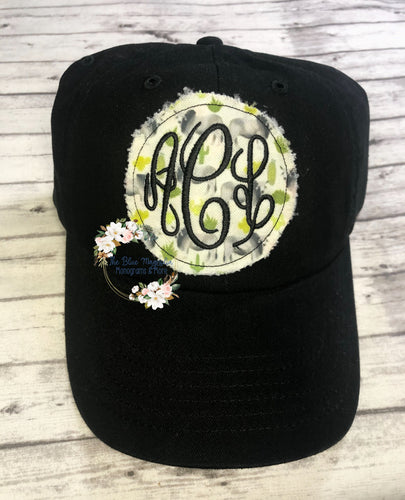 Cactus Brahman Raggy Patch Hat