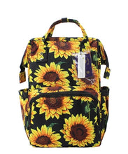 Sunflower Diaper Backpack
