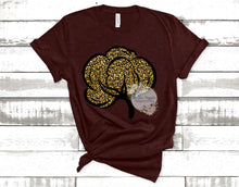 Leopard Cotton Boll Tee