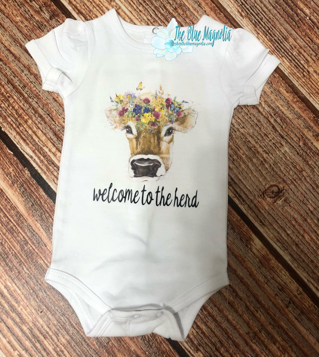 Welcome to the Herd Bodysuit
