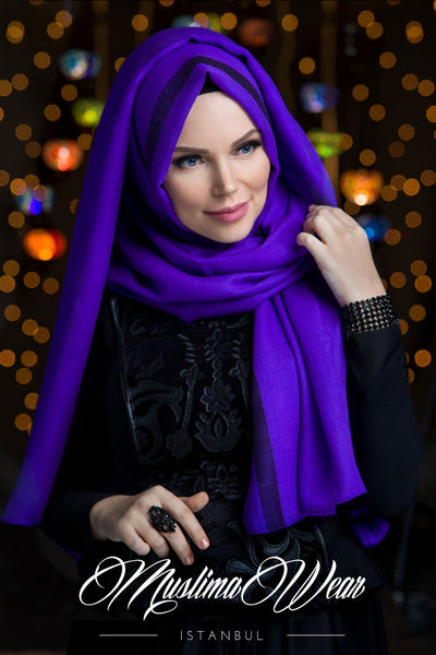 Queen Hijab Violette - Muslima Wear 1