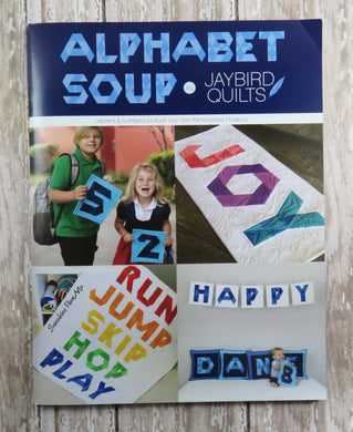 Alphabet Soup Quilt Pattern