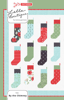 By the Chimney Quilt Pattern