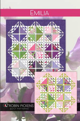 Emilia Quilt Pattern - Sweet Pea & Lily