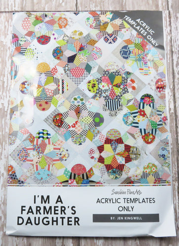 I'm a Farmer's Daughter Quilt Acrylic Templates