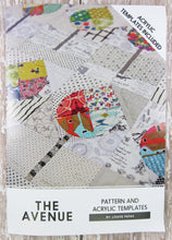 The Avenue Acrylic Templates & Quilt Pattern