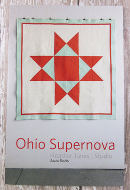 Ohio Supernova Quilt Pattern - Heather Jones  - HJ001