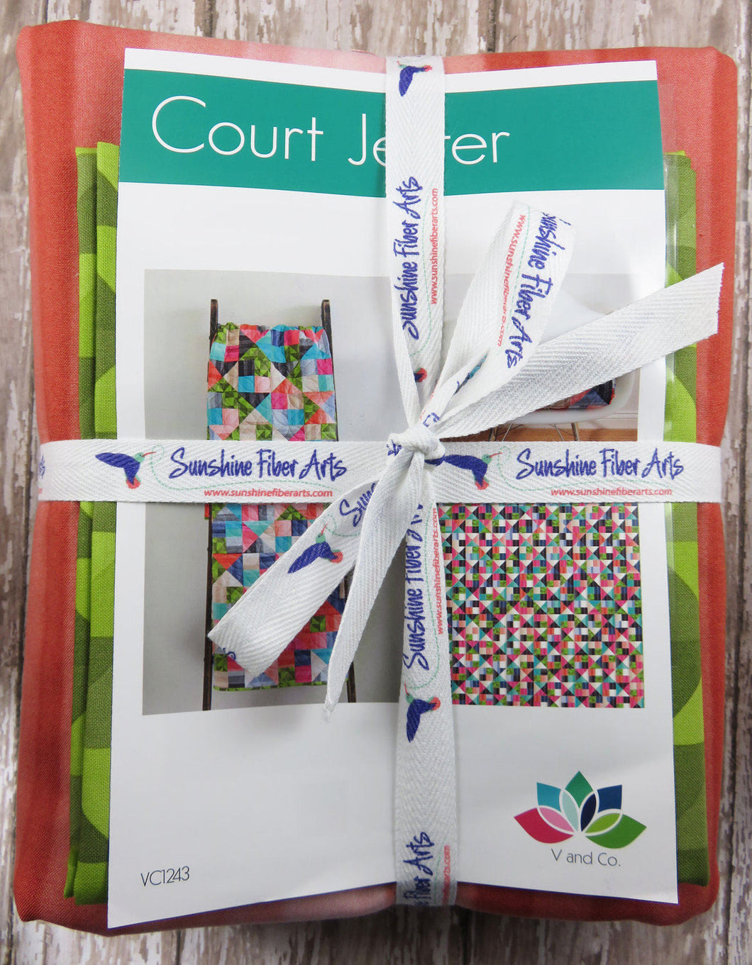 Court Jester Quilt Kit