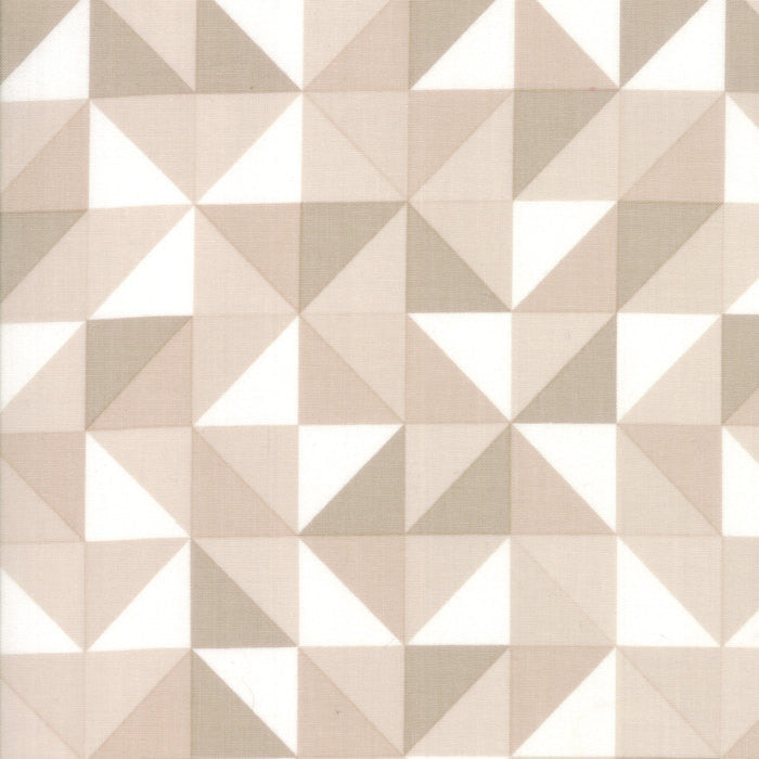 Spectrum Ombre Half Square Triangles - Sand