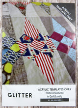 Glitter Quilt Acrylic Templates
