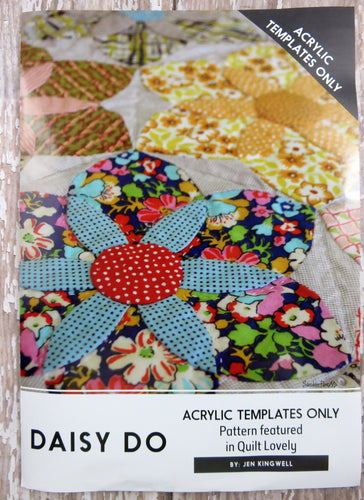 Daisy Do Quilt Acrylic Templates