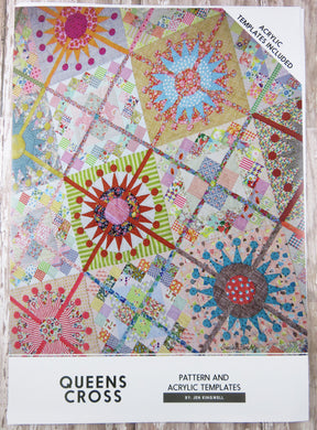 Queens Cross Acrylic Templates & Quilt Pattern