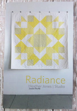 Radiance Quilt Pattern - Heather Jones - HJ005