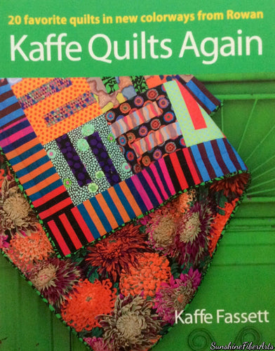 Kaffe Fassett's KAFFE QUILTS AGAIN Book