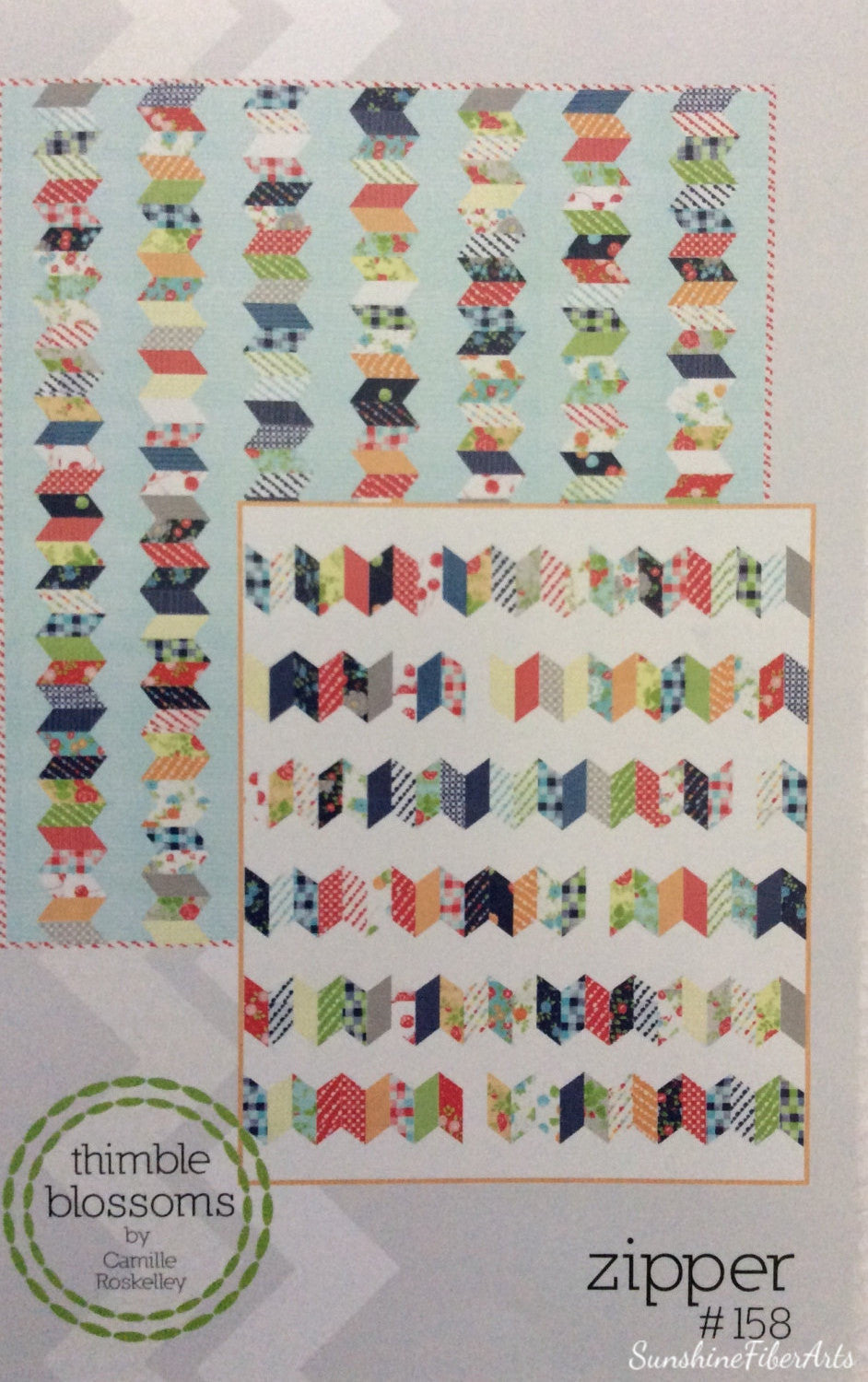 Zipper Quilt Pattern