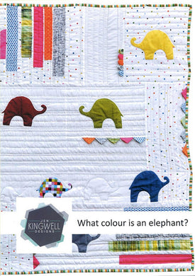 What Colour Is An Elephant? Quilt Pattern