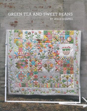 Green Tea and Sweet Beans Quilt Pattern