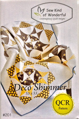 Deco Shimmer Quilt Pattern