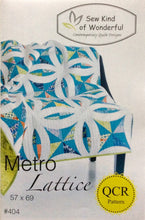 Metro Lattice Quilt Pattern