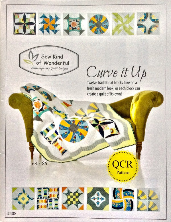 Curve It Up Quilt Pattern
