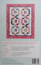 Mini Garden Paths Quilt Pattern