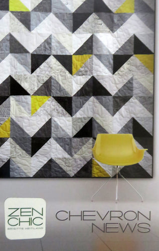 Chevron News Quilt Pattern