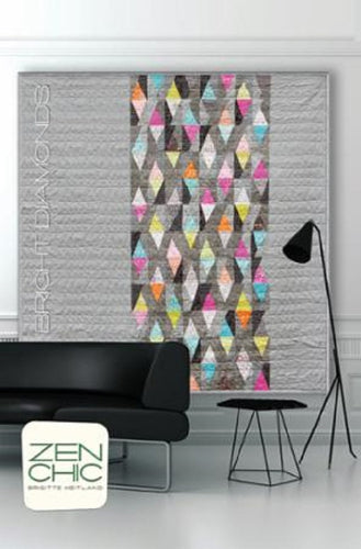 Bright Diamonds Quilt Pattern