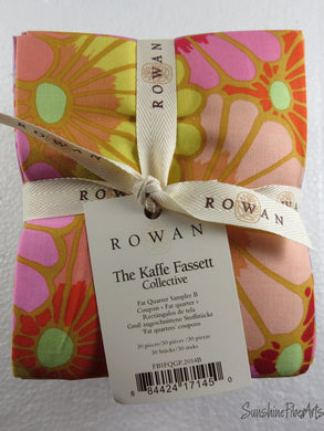 Fall 2014 Sampler B - Kaffe Fassett Collective - Rowan - 30 pieces - Fat Quarter Bundle - FB1FQGP.2014B