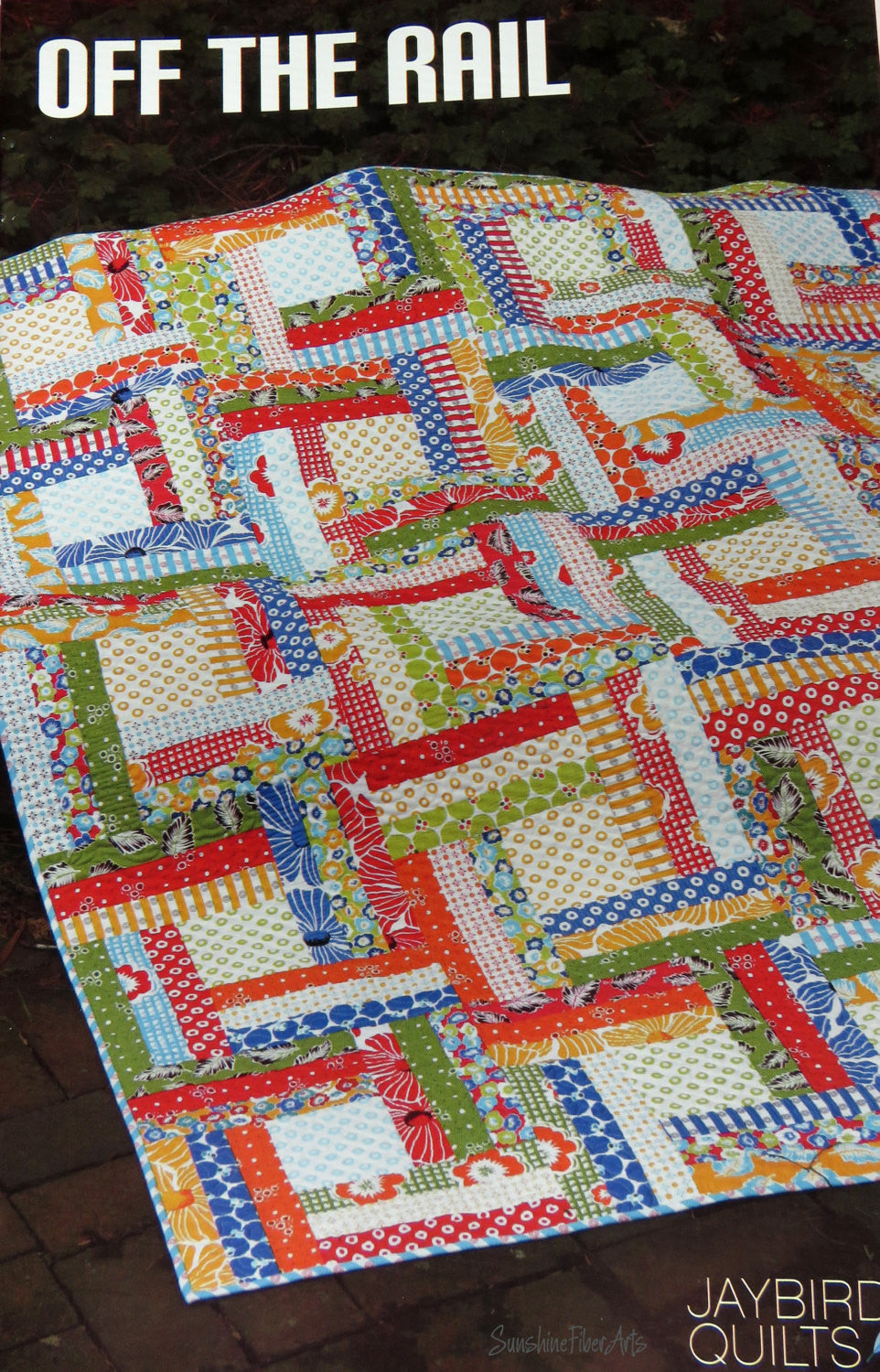Off the Rail Quilt Pattern