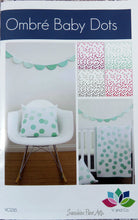 Ombre Baby Dots Quilt Kit - Aubergine