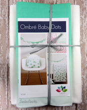 Ombre Baby Dots Quilt Kit - Teal