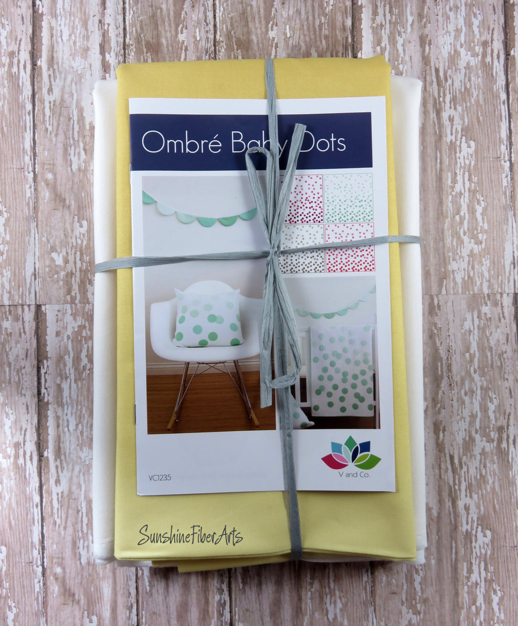 Ombre Baby Dots Quilt Kit - Honey