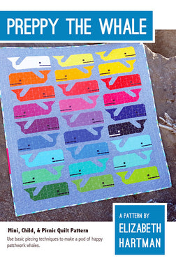 Preppy The Whale Quilt Pattern