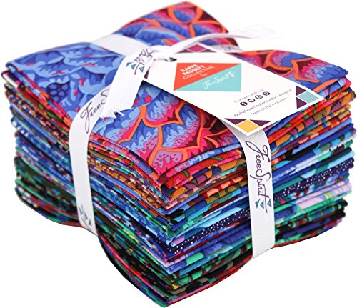 Kaffe Fassett Fat Quarter Bundle - Spring 2018 Dark