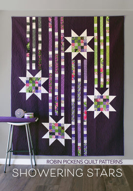 Showering Stars Quilt Pattern - Sweet Pea & Lily