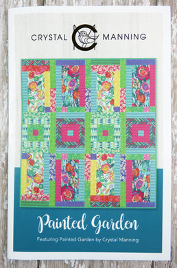 Painted Garden Quilt Pattern