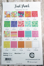 Fruit Punch Quilt Pattern