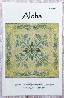 Aloha Applique Quilt Pattern