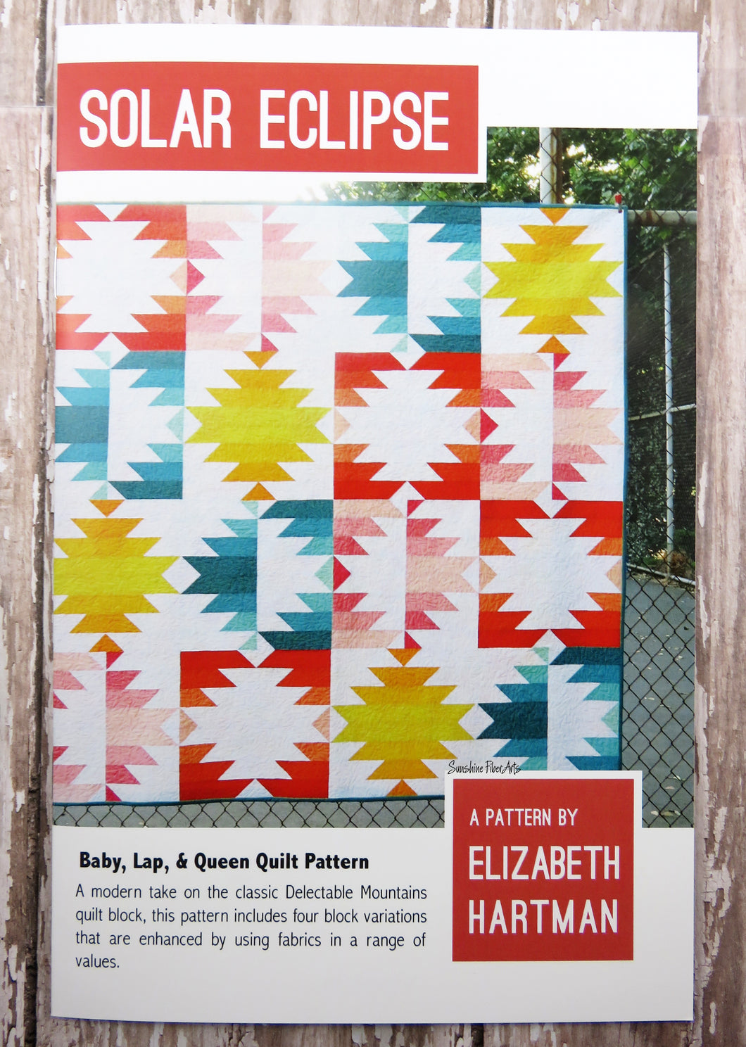 Solar Eclipse Quilt Pattern