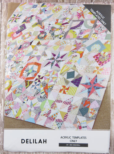 Delilah Quilt Acrylic Templates