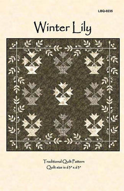 Winter Lily Quilt Pattern