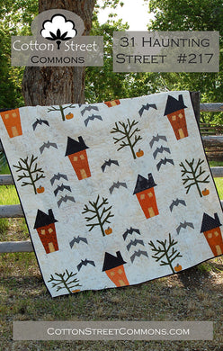 31 Haunting Street Quilt Pattern