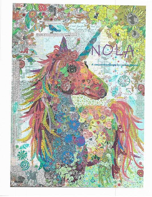 Nola Collage Quilt Pattern