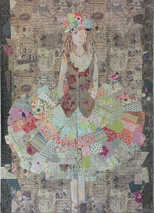 The Dress Collage Quilt Pattern - Laura Heine