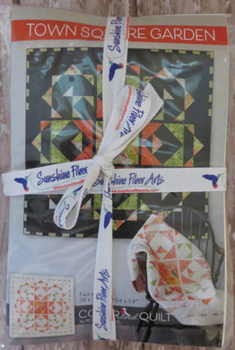 Town Square Garden Quilt Kit - Small - Dark