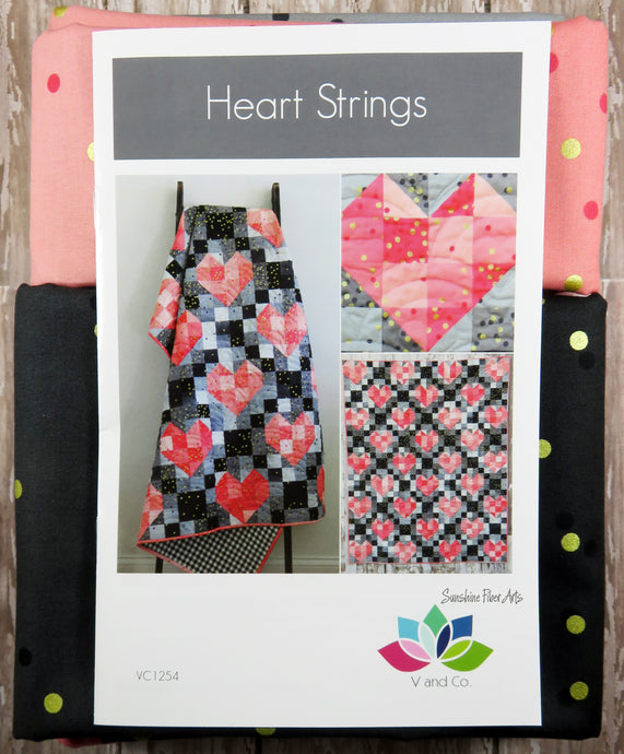 Heart Strings Quilt Kit