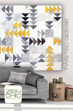 Twisted Geese Quilt Pattern