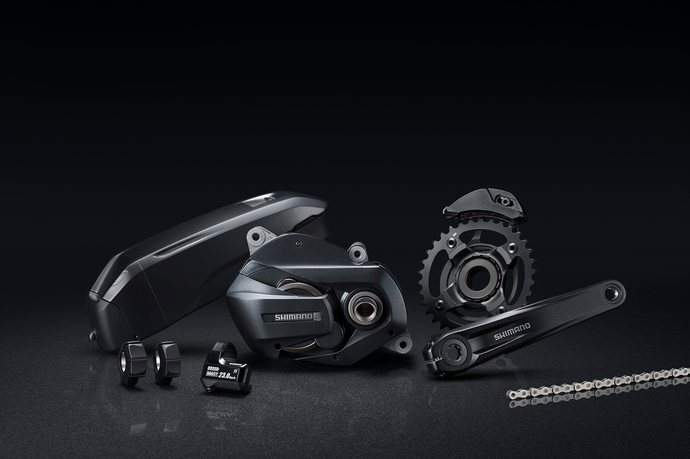 SHIMANO AIMS AT NEW E-BIKE MARKET WITH INTRODUCTION OF E7000 E-MOUNTAIN BIKE COMPONENTS