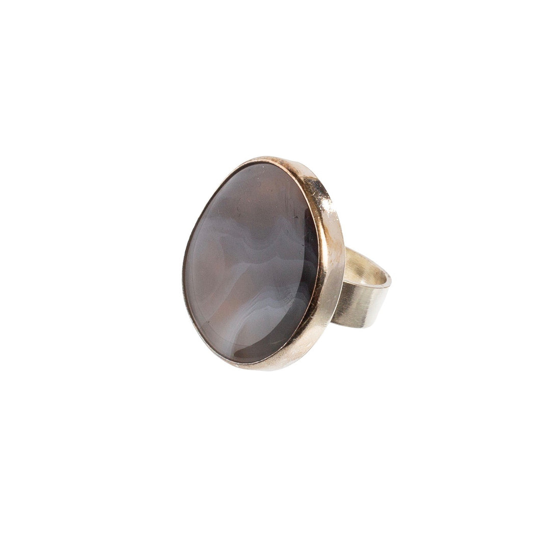 Earth Agate Ring