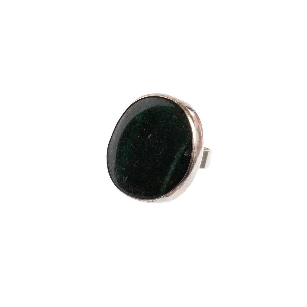Green Aventurine Statement Ring